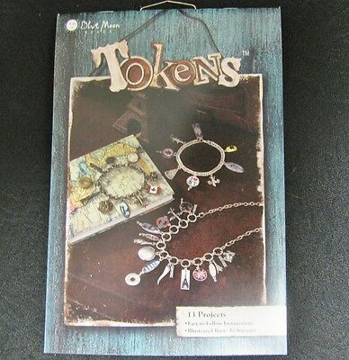 Blue Moon Beads Tokens  - Beading Instruction Flip Book  13 Projects