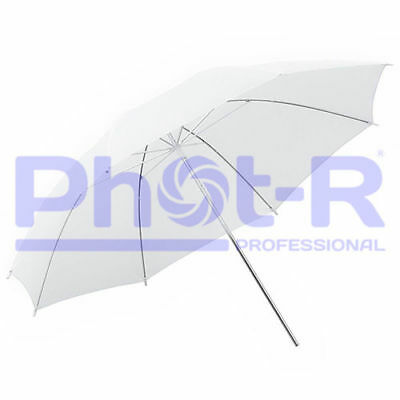 "Phot-R Professional 43""/109cm Translucent White Studio Collapsible Umbrella"
