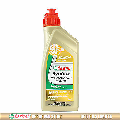 Castrol Syntrax Universal Plus 75W-90 Synthetic Transmission & Diff Oil 1 Litre