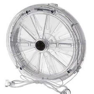 Vent A Matic Pull Cord Fan For Single Glazed Windows Model 106 with Stormguard