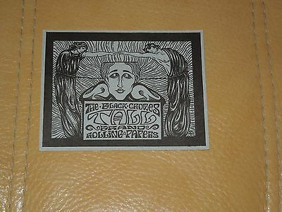 """1994 The Black Crowes"""" Taller""""  Promotional Flyer For TBC Branded Rolling Papers"""