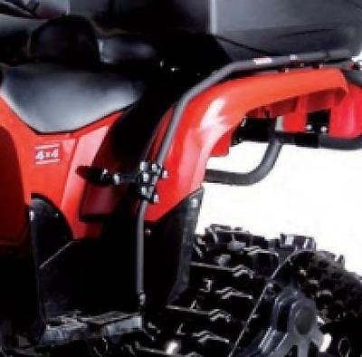 New Honda Atv Fender Guard Passenger Foot Pegs Double Ride Foreman 450 1998-2004