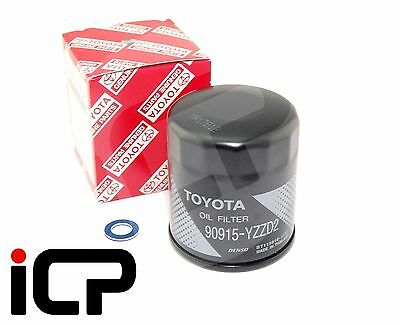 Genuine Oil Filter & Sump Washer Fits: Toyota Soarer JZZ30 Twin Turbo 1JZ-GTE