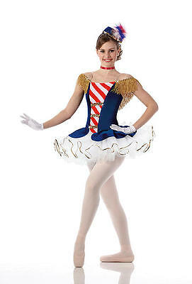 Stars and Stripes Dance Costume Ballet Halloween Costume Child & Adult
