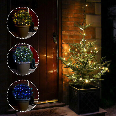 5M Battery Operated Home Garden Christmas Decor Fairy String Wire 50 Led Lights