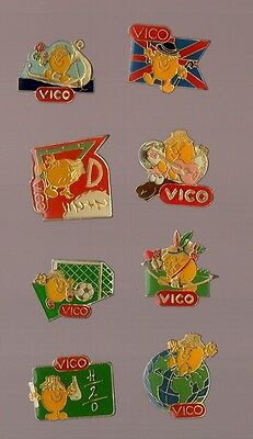 lot de 8 Pin's / Vico