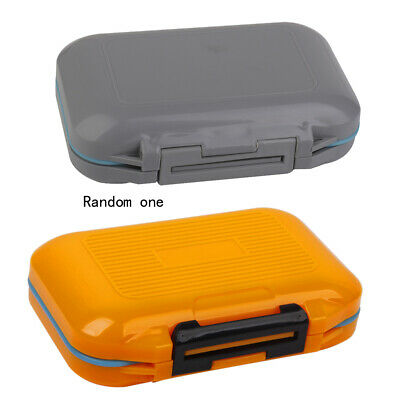 Waterproof Small Fishing Tool Box Tackle Lure Hooks Case Accessories Storage