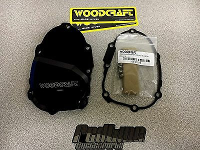 Woodcraft Yamaha R6 06-17 Right side Ignition Trigger Cover w/stainless slider