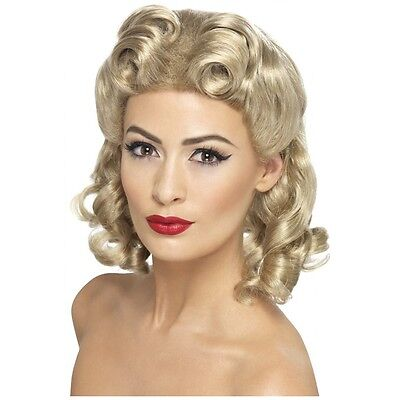 1940's Sweetheart Wig Costume Accessory Adult Halloween