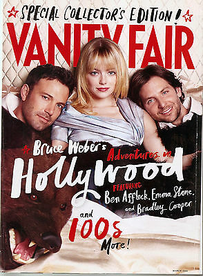 Vanity Fair Magazine March 2013 Hollywood Special Edition Us