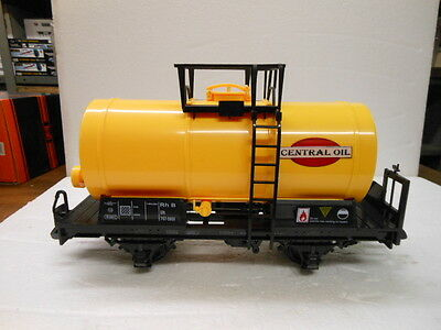 Train G Scale 757-5806 2 Axle Tank Car-Central Oil