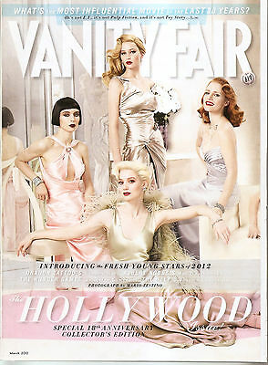 Vanity Fair Magazine March 2012 Hollywood Issue Us