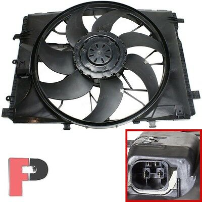 BRUSHLESS Cooling Fan Assembly for Mercedes W204 W212 E C GLK Class 2045000293
