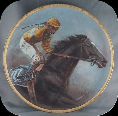 Fred Stone Sunday Silence Horse Collector Plate Limited to 9500 total