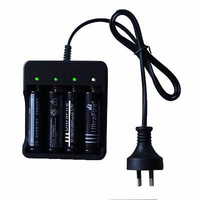 Universal 4 Slot Battery Charger for 18650 Ultrafire Li-ion Battery