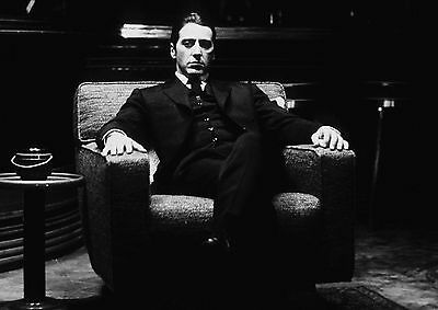 The Godfather Al Pacino Quotes Film Movie Canvas Print 2699