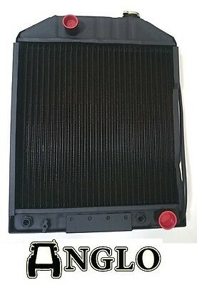 Ford 4110 5110 5610 6410 6610 6810 7000 7100 7200 7410 7610 Radiator With Cooler