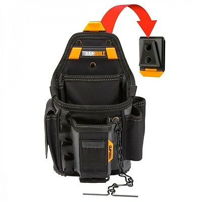 Toughbuilt Small Electricians Tool Pouch - 13 Pockets & Loops (CT-34)