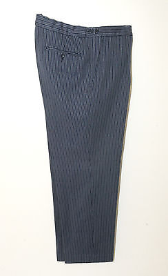 T-B Boys/mens Navy Blue Pin Stripe Masonic Formal Trouser Wedding/morning/dress
