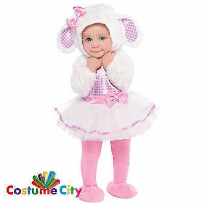 Baby Infants Toddlers Little Lamb Easter Halloween Fancy Dress Party Costume