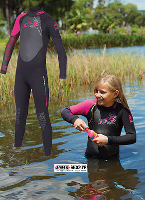 Combinaison enfant néoprène FS Progress Youth 3mm Pink - Jobe -Sports nautiques