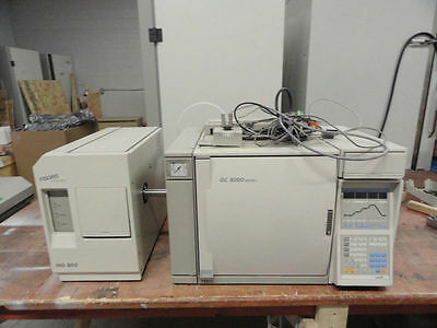 Fisons GC 8000 series 8035 with MD 800 Mass Spectrometer Quadrupole (S/N 265055)