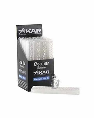 XiKAR 806Xi Crystal Cigar Bar Humidifier Perfect for Travel Case Humidor 3 Pack