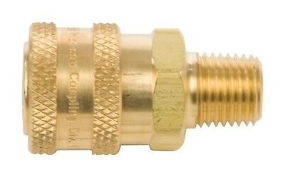 """Forney Male Socket Quick Coupler 1/4 """" 5500 Psi"""
