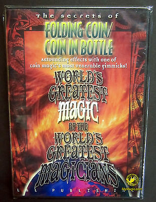 World's Greatest Magic: Folding Coin And Coin In Bottle :: NEW DVD