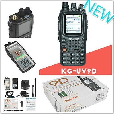 NEW! KG-UV9D 136-174/400-512MHz WOUXUN Ham Radio Dual Band Transmitter 5W CTCSS