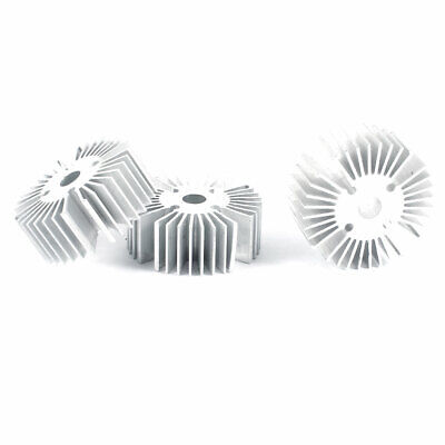 Led Light Lamp Aluminum Heat Sinks Radiator Cooling Fin 39mmx6.5mmx15mm 3 Pieces