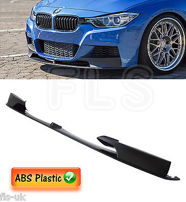 Bmw 3 Series F30 F31 Front Diffuser Splitter Valance Lip Spoiler Side Skirt Kit