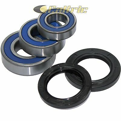 Rear Wheel Ball Bearings Seals Kit Fits YAMAHA FZ8 2011 2012 2013
