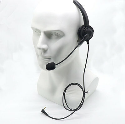 Over-the-Head Band 2.5mm Headset for Panasonic Office Home Cordless Phone System