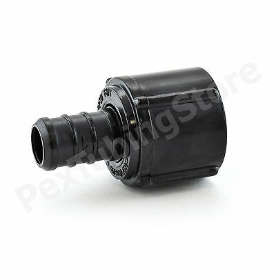 """(25) 1/2"""" PEX x 1/2"""" Swivel FNPT Adapters - Poly Alloy Lead-Free Crimp Fittings"""