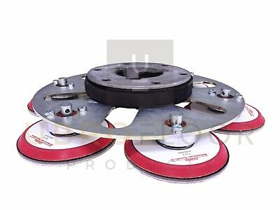"16"" Hydrasand Multidisc Multi-head Sanding Disc attachment -fits most 16"" buffer"