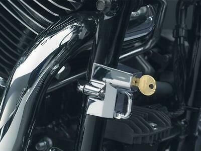 "Universal Helmet Lock Secures To Frame 22mm-32mm (7/8""-1.25"") Kuryakyn 4220"