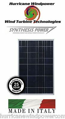 20W PEIMAR/SYNTHESIS 12V Poly-Crystalline Solar Panel 20 Watt Off Grid RV Marine