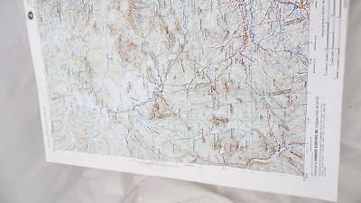 Hubbard Scientific Nl 19-B Raised Relief Topographical Map Me Guc V501P Edition2
