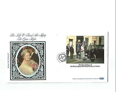 7/6/1985 Vanuatu FDC - The Life & Times of Her Majesty The Queen Mother #2