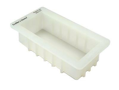 Crafter's Choice Regular Silicone Loaf Soap Mold 40 to 44 Ounce Food 1501