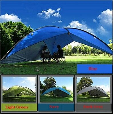 New large Sun Shade Shelter waterproof light cover 1 wall outdoor camping easy