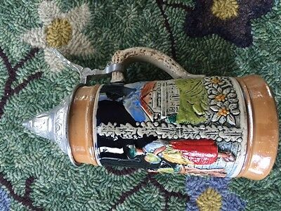 German stein Lidded 250 ml from Private Collection
