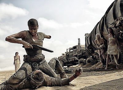 CHARLIZE THERON 11X15 CM  # 2 PHOTO MAD MAX  FURY ROAD