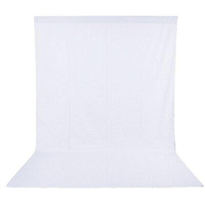 Phot-R 3 x 6m Photography Photo Studio Non-Woven Backdrop Background White