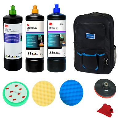 Kit de Lustrage 3M Premium avec Sac de Transport