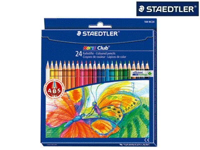 24 Staedtler Farbstift Buntstift Malstift Noris Club Im Etui 144Nc24 Top !