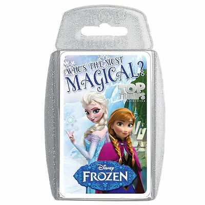 Top Trumps Fun Card Games - Disney Frozen