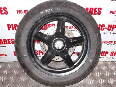 2013 Yr Yamah Bws 125Cc Moped Front Wheel And Tyre  Wheel  0000282090