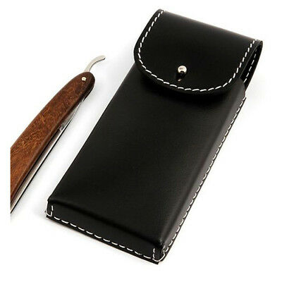 Timor Saddlery Leather Pouch for 2 Straight Razors